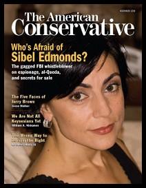SibelEdmonds_AmericanConservativeCover