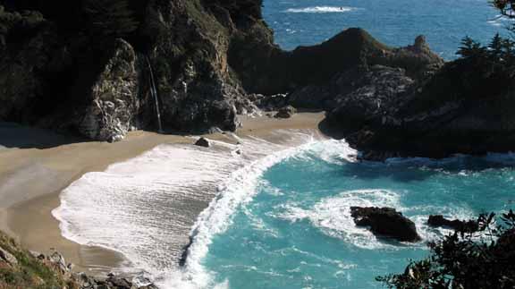 pristine shore